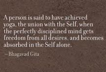 """Bhagavad Gita ॐ नमः शिवाय / The Bhagavad Gita is an ancient Indian text & an important work of Hindu tradition in terms of both literature & philosophy. The name Bhagavad Gita means """"the song of the Lord"""". It's composed as a poem & contains many key topics related to the Indian intellectual & spiritual tradition. The Bhagavad Gita became a section in the middle of """"The Mahabharata"""", the longest Indian epic. The section known as the Bhagavad Gita or 'Gita', consists of 18 brief chapters & about 700 verses. ॐ नमः शिवाय"""