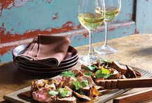 Recipes with Wine Pairings / This board is for our guests as a recipe pairing reference page.  Each recipe that we pin will have a recommended Bowers Harbor Wine pairing. Taste, Learn, Enjoy!