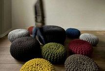 Knits / Knitted interiors