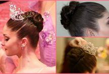 Des chignons ! Ballet buns ! / Se coiffer pour le ballet... Ballet hairstyle