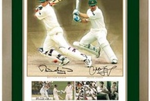 Cricket Memorabilia / All the latest limited edition licensed and certified Cricket Memorabilia available now at Magical Memorabilia, including Michael Clarke, Ricky Ponting, Michael Hussey, Steve Smith, Warner, Johnston