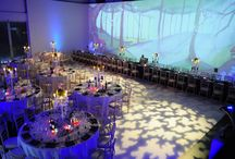 Lighting Inspiration from Sunbeam Studios / Take a peek at the professional lighting we use here at Sunbeam Studios, Kensington, for weddings, parties and conferences.