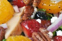 Salad salad salad / Mouthwatering salads