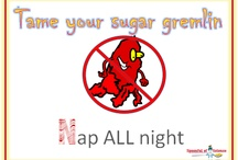 Nap all night / The N in the Candy Floss system is about Napping ALL NIGHT i.e. get enough sleep