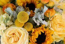 matrimonio bouquet girasoli
