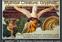 Mythical Creatures / Mythical creatures similar to those included in my epic fantasy books.