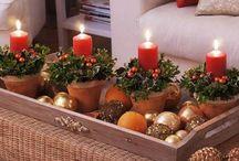 Boże narodzenie / Wszystko związane ze świętami Bożego Narodzenia. Wystrój wnętrz, dekoracje.