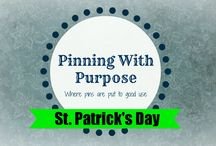 "St. Patrick's Day (PWP) / Need some ideas for St. Patrick's Day?  Look no further!  You'll find food, activities, and printables.  Have St. Patrick's day planned in a ""pinch."""