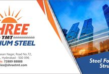 Steel Manufacturers in India / SHREE TMT bars have been used for world-class infrastructure projects such as dams, flyovers and highways. Companies like the My Home Group, Bhuvana Constructions, Jayabheri Projects and JMC Projects are regular users of these high-quality steel bars. All these companies develop only the most complex buildings and infrastructure.