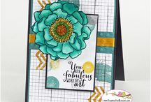 Stampin' Up! - Blended Bloom / Jaarcatalogus /Annual catalogue 2014-2015