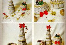 мои работы ( плетение из бумажной лозы, ручная работа)
