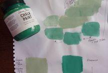 Chalk Paint Palettes  / by Millie Allai Smart