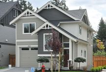 The Hemlcok B at Katie's Pond / This 1,400 sq. ft. homes has 3 bedroom and 3 bathrooms with a upper floor den.