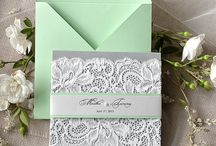 Wedding Colours: Mint Green / Fresh, crisp and delicious, mint green is one of our favourite pastels~