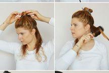 Tutorial capelli, stiraggio e acconciature