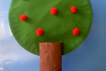 Trees, leaves and seeds preschool theme