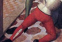 Historický kostým pánský 15. století