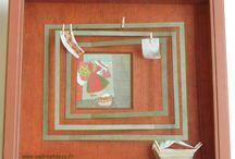 ENCADREMENT : Tendance marron / Cours d'encadrement d'art / baguette en carton /cartonnage / meuble en carton /abat-jour dans l'Ain