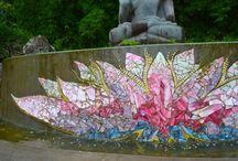 lotus mosaic / lotus mosaic ideas