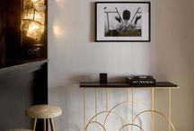 interior design | black white gold / lifestyle interior design | wedodesign.pl project : Paris