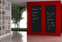 Wohnzimmer Wand