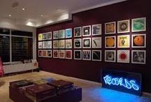Record album display