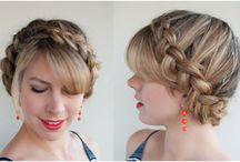 Прически на короткие волосы с косичками