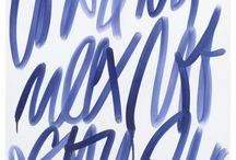 lettering / by Henry Hadlow