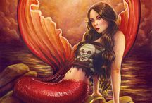 A Mer's Life for me / Mermaids, mermen, and other fishy things. / by Phoenix Darque