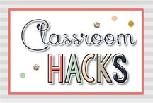 Classroom Hacks {Kinder Tribe}