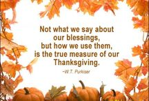 Thanksgiving / by Kristy Willi