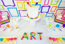 Art Party Ideas  / by Lillian Hope Designs