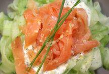 concombre  saumon