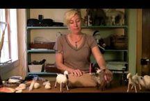 Vilten geit (video's tutoriol)