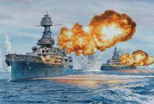 WW II Naval & Otros- Art