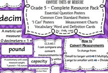 Math- Geometry, Measurement and Charts / by Liz Perry