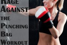 Knockout for Fitness / Heavy bag and sparring workouts for beginners