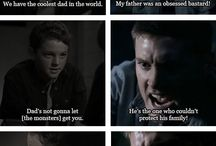 Supernatural. Dean & Sam