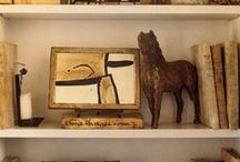 Shelves of things
