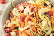 No-Cook Spiralizer Recipes / by Inspiralized