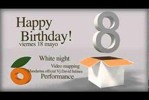 #HappyBirthdayMandarina / Celebramos nuestro 8º aniversario con una White Party Night y muchas sorpresas..........
