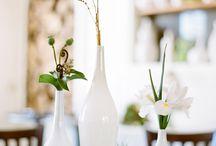 Casitas- modern garden wedding