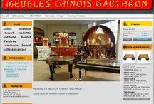 gauthron / meubles chinois