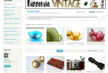 MY SHOP: RinnovatoVintage / Vintage housewares, home decor, jewelry and accessories.
