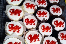Welsh Celebration Of Life Cupcakes