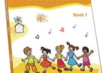 Music Books / School songs and music for children to learn and improve their English.