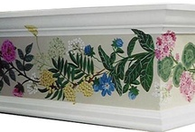Hand Crafted Window Treatments / Beautiful hand-painted custom window treatments.