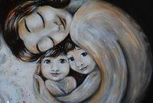 Материнство в живописи