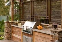 Backyard Kitchen / by Dawn Copeland