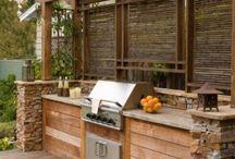 Backyard Kitchen / by Dawn Copeland